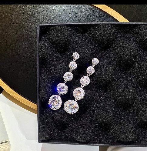 Drop Earrings Cubic Zirconium