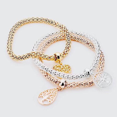 Tree of Life charm stretch bracelets