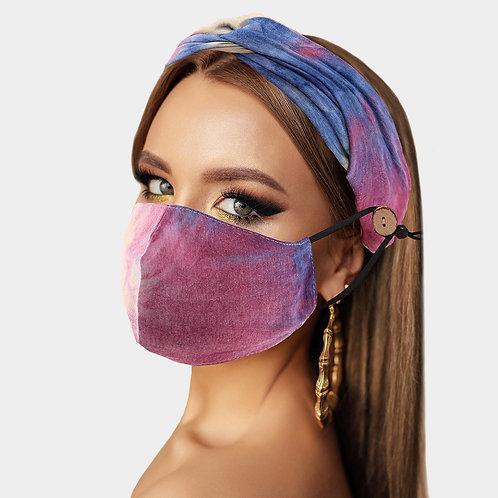 Tye Dye Mask