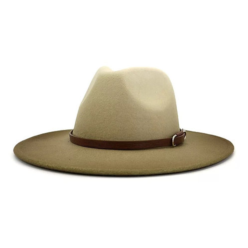 Tan Jazz Fedora