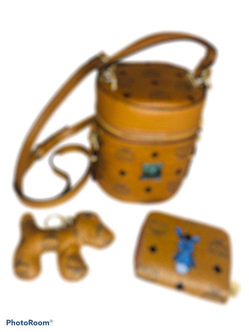 Bucket 3pc Set Wallet & Key Chain