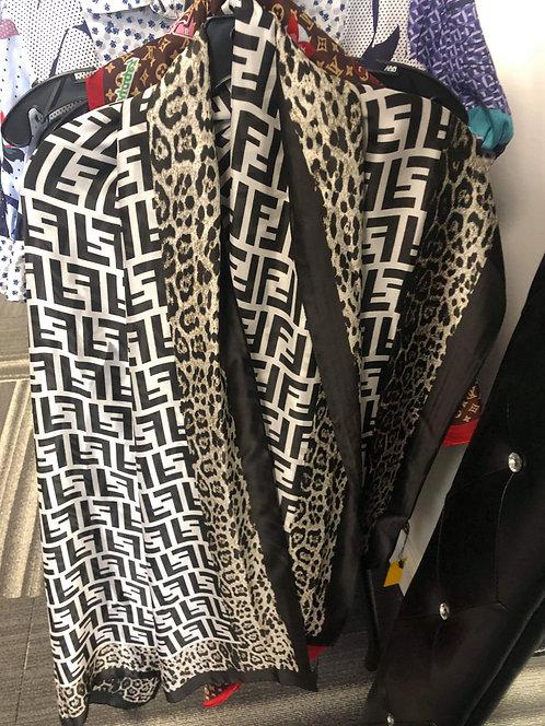Large FF Head Wrap/Shawl Silk Scarfs