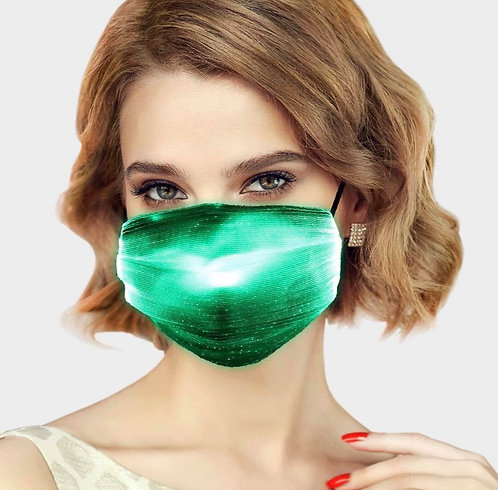 Green LED Mask