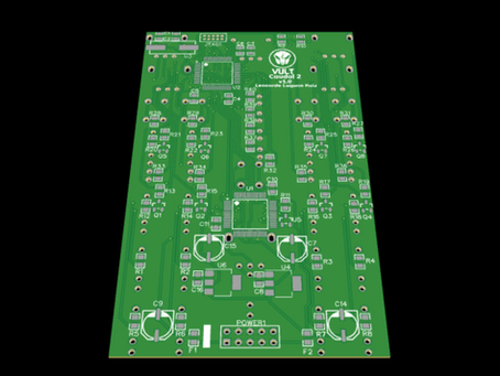 Caudal 2: first prototype PCB sent for manufacturing