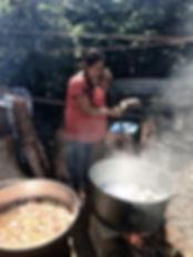 Woman Stirring