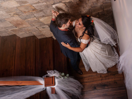 Wedding in Your own Home? DO it! Kurt & Jan's Intimate Elopement in North Carolina