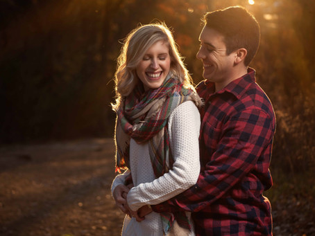 Picking your Outfit: Fall Engagement Photography at Elmer W. Oliver Nature Park, Mansfield, TX