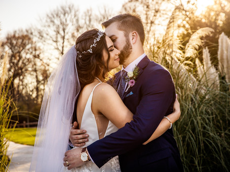 Hunter & Angelica's Beautiful Winter Wedding at the SPRINGS Event Venue: McKinney. TX