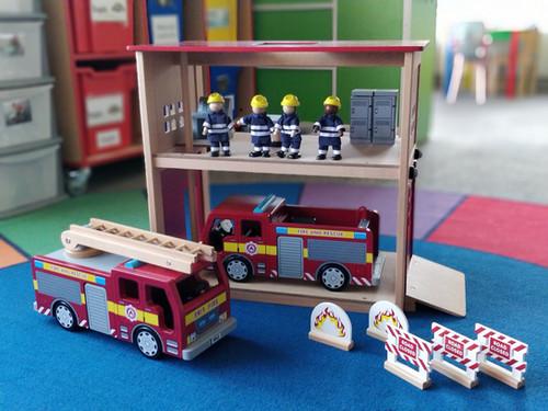 Firefighting fun...