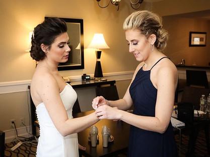 _ Bride & Maid of Honor _ _#salondploran