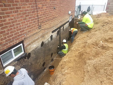 Professional Waterproofing Contractors. Serving Virginia, DC & Maryland