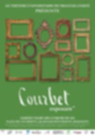 affiche Courbet