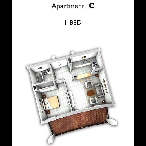1 Bed room apartament.png