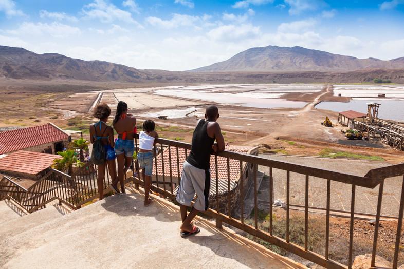 Salt Mines Cape Verde