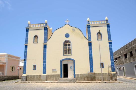 Santa Isabel Church in Sal Rei, Boa Vist