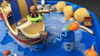 משחקי מים בגן הילדים