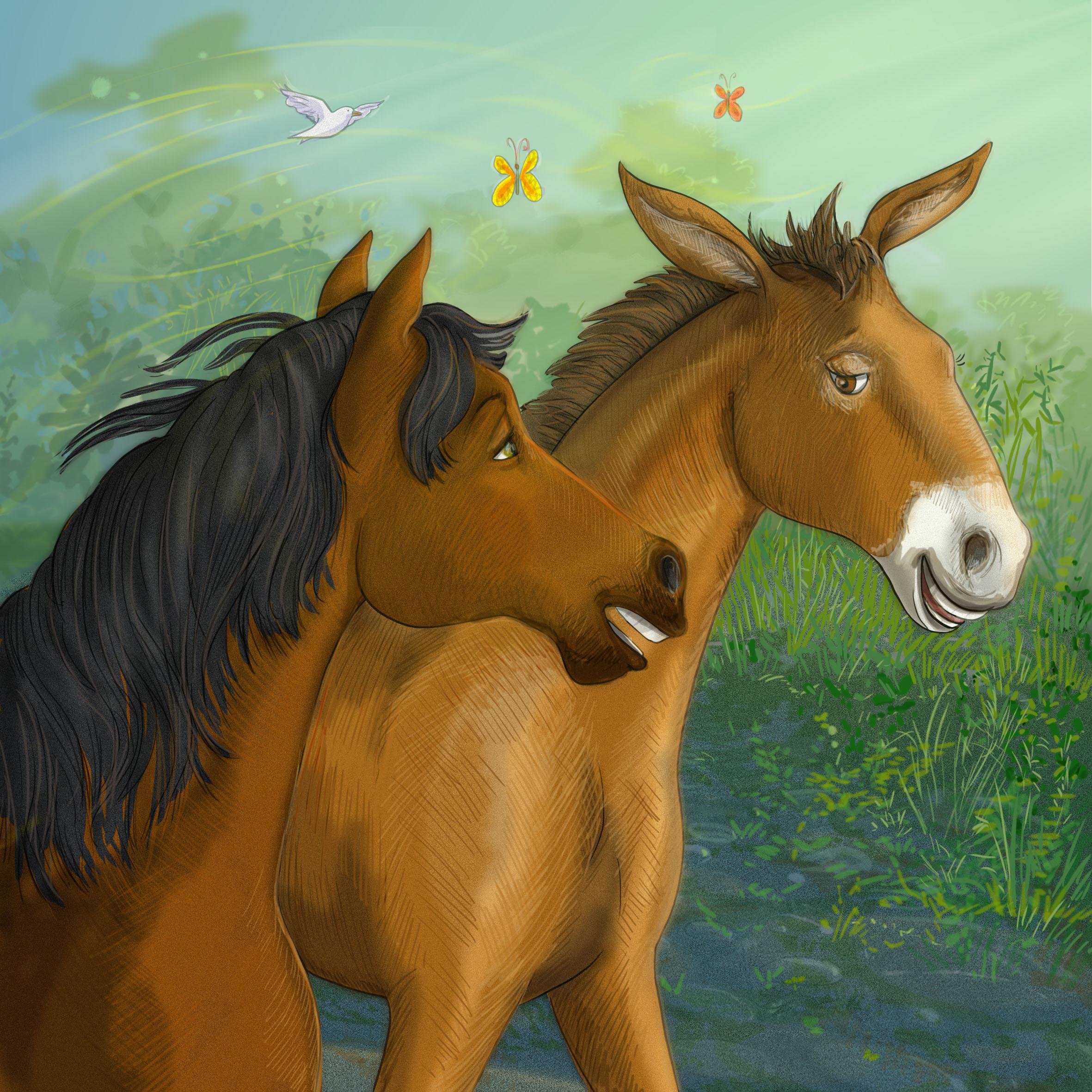 Wardit the mule
