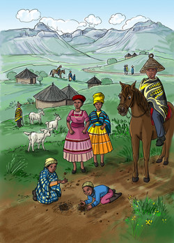 19.Lesotho
