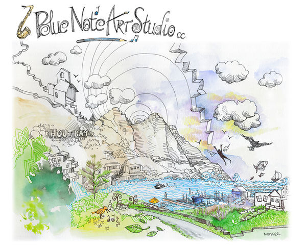 doodle of Hout Bay
