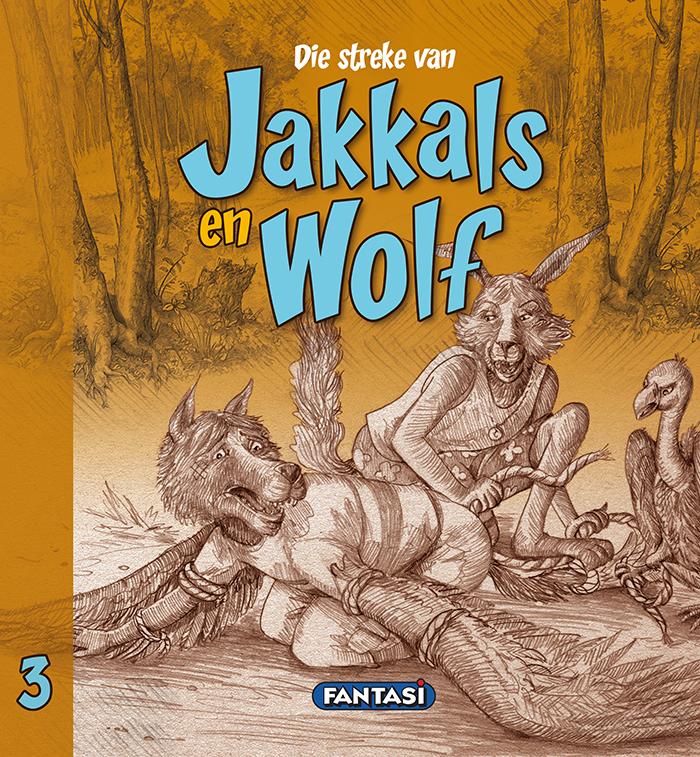 Jakkals en Wolf Boek 3