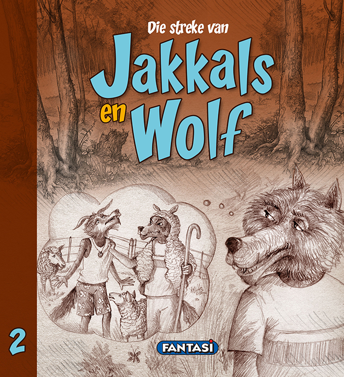 Jakkals en Wolf 2 front covery