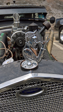 That's some hood ornament!