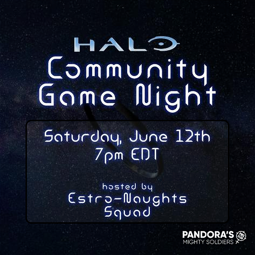 Halo Community Game Night