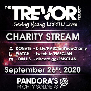 PMS Charity: The Trevor Project