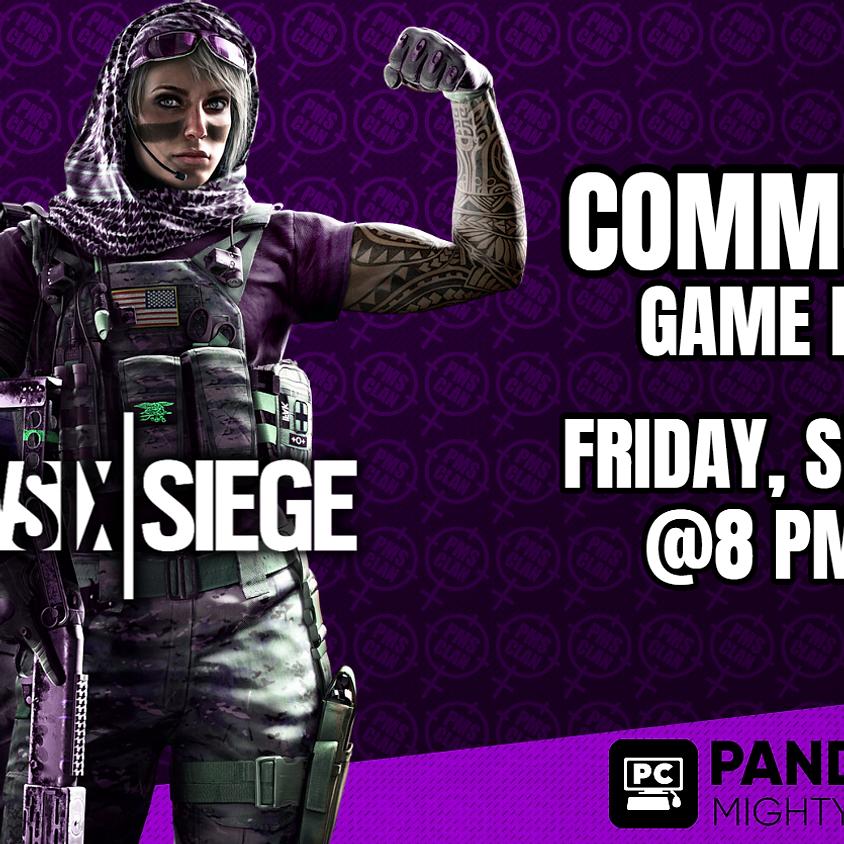 Rainbow Six Siege Community Game Night