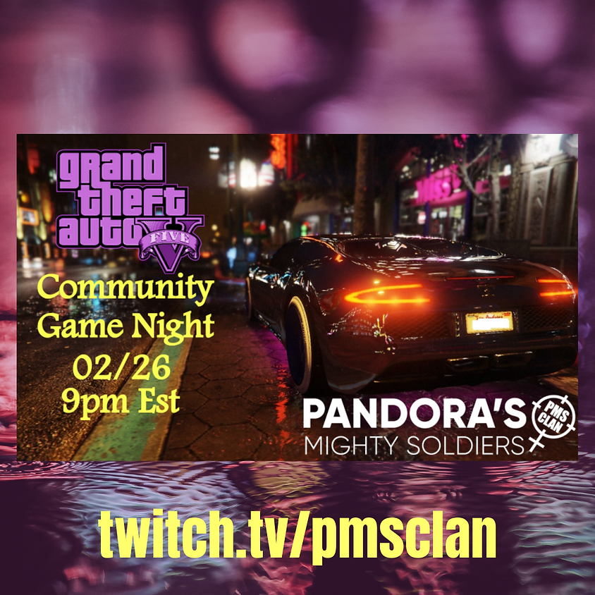 GTA 5 Xbox Community Game Night