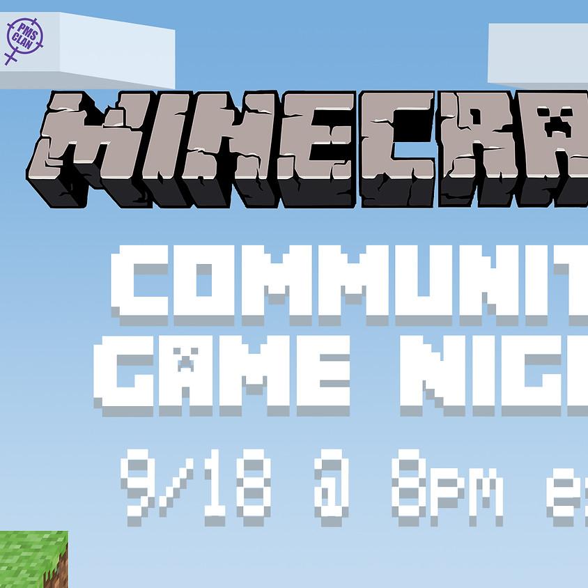 Minecraft Community Game Night