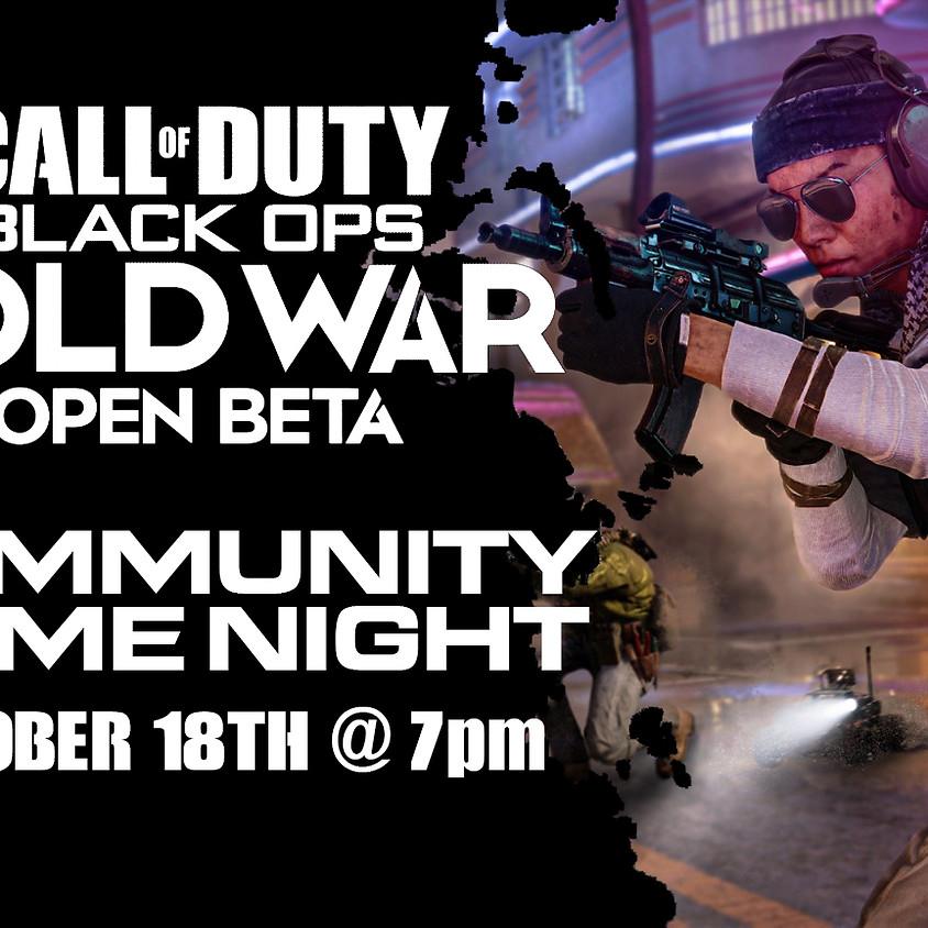 Call Of Duty: Cold War Open Beta