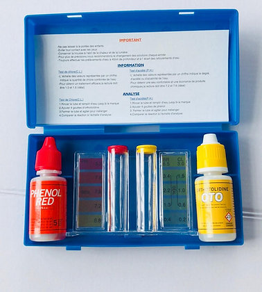 Test Kit  pH & Cl test kit - Cleaning Set