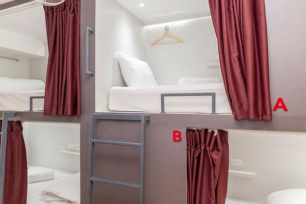 Alexa - Bunk Bed in Mixed Dormitory Room