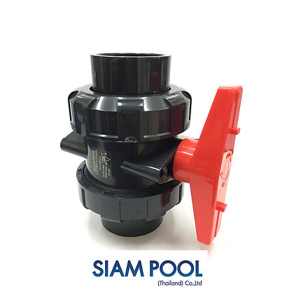 "Ball valve 2"" - UPVC True union  - Fitting"