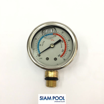 Pressure Gauges - Oil pressure gauge แนวตั้ง - Fitting