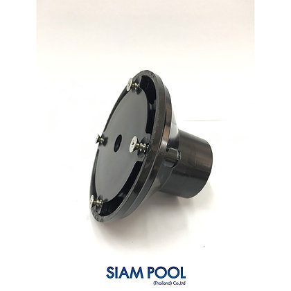"Standard floor inlet 2""  black - Fitting"