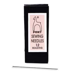 #12 beading needles