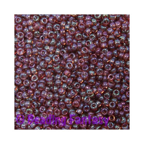 M15-302-  Claret Rainbow Gold Luster