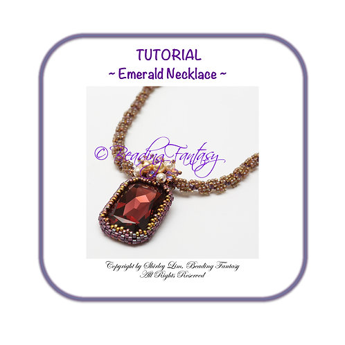 PDF Tutorial Emerald Necklace