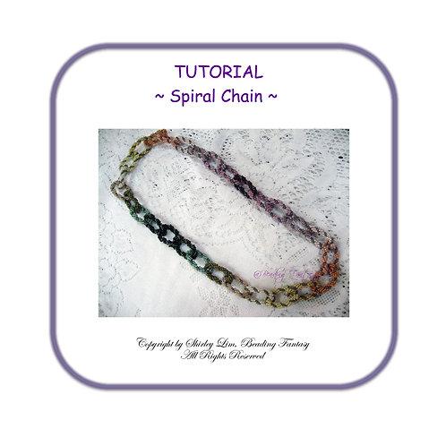PDF Tutorial Spiral Chain