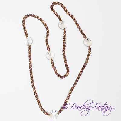 Spiral Links Necklace