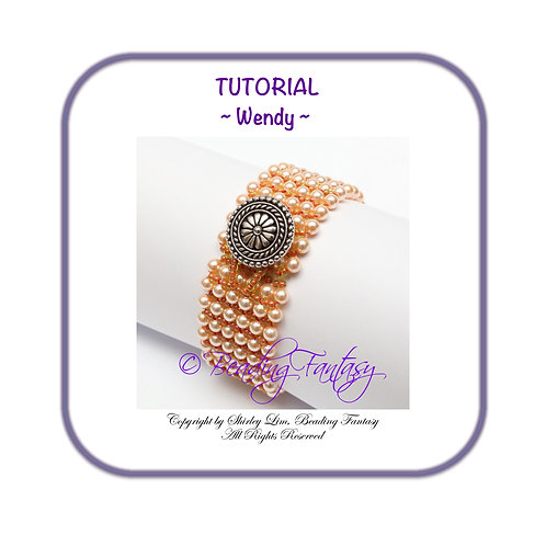 PDF Tutorial Wendy Bracelet