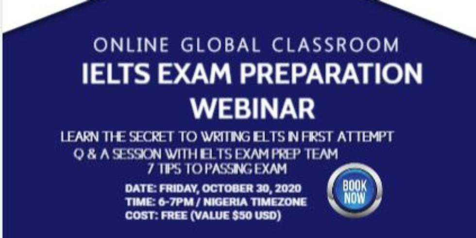 Join Free IELTS Exam Prep Webinar