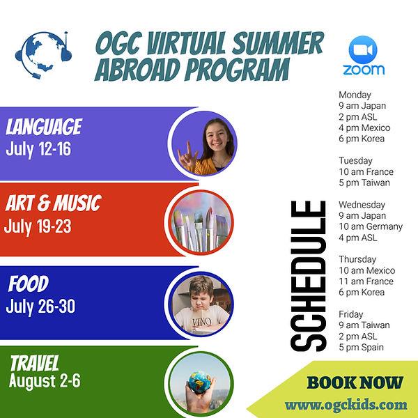 OGC Virtual Summer Abroad Program - Flye