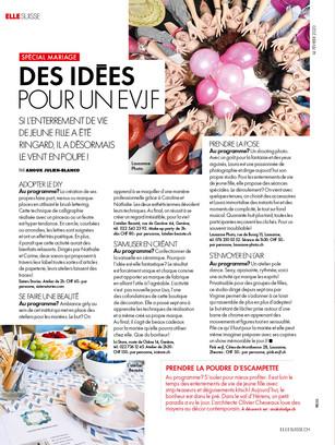 Recommandé par Elle Suisse Magazine
