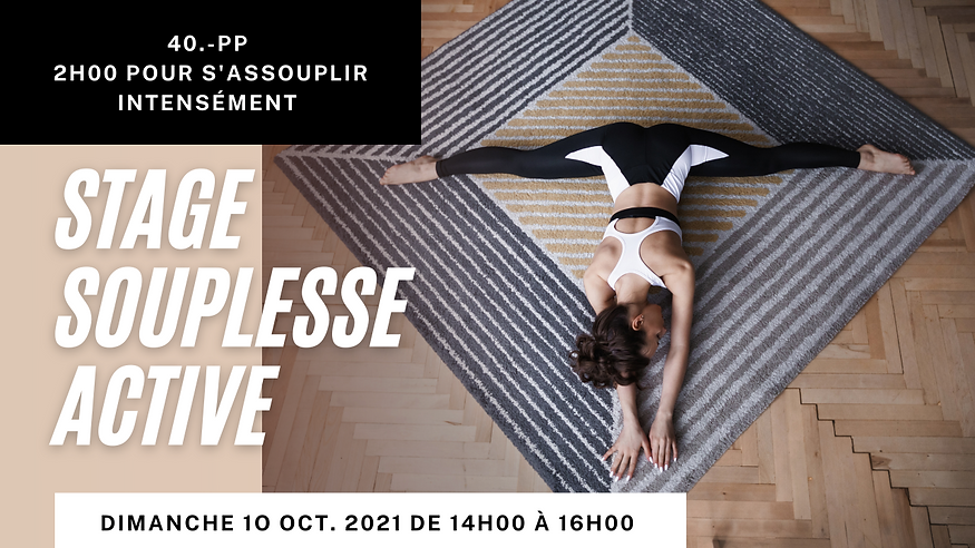 chrome studio stretching souplesse stages cours lausanne flexibility
