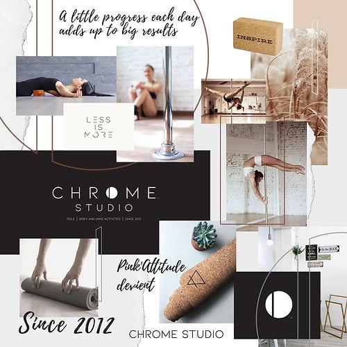 chrome studio lausanne cours pole dance