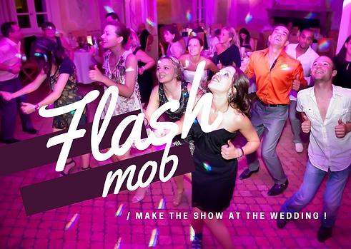 flash mob dance evjf enterrement de vie
