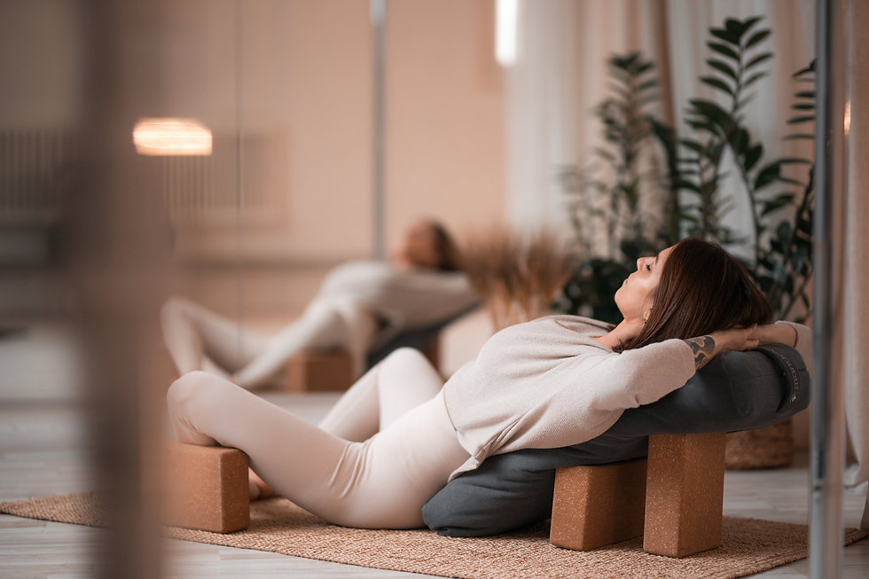 cours virginie yin yoga étirements stret